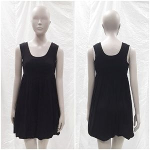 French Connection Little Black Babydoll dress sz 0